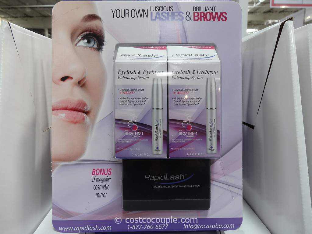 RapidLash Eyelash and Eyebrow Enhancing Serum Costco 1
