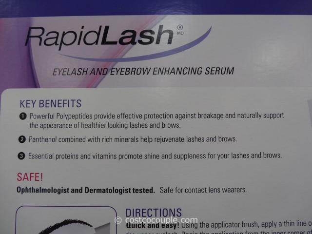RapidLash Eyelash and Eyebrow Enhancing Serum Costco 3