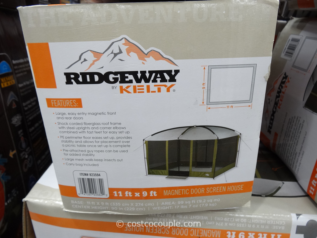 768 #B6500C Ridgeway By Kelty Magnetic Door Screen House Costco 1 pic Costco Doors 47611024