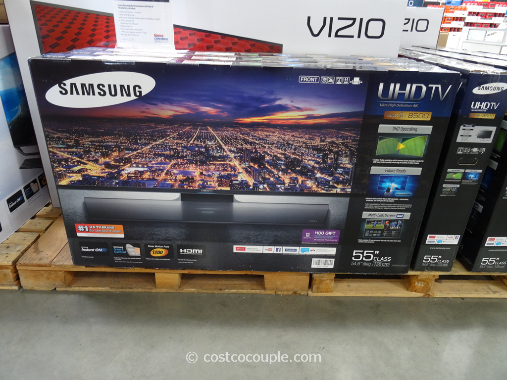 Samsung 55-Inch 4K Ultra HD LED TV Costco 3