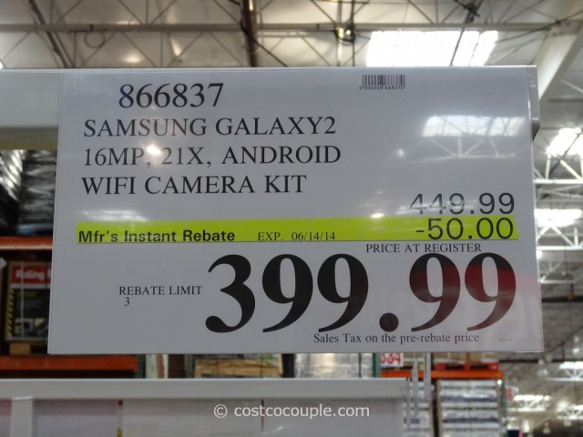 Samsung Galaxy Camera2 GC200 Costco 1