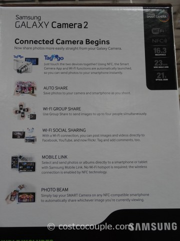 Samsung Galaxy Camera2 GC200 Costco 5