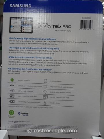 Samsung Galaxy Pro 12.2-Inch Tablet Costco 4