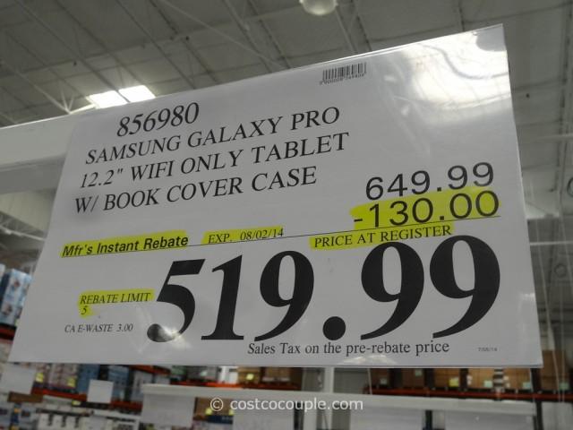 Samsung Galaxy Pro 12.2-Inch Tablet Costco