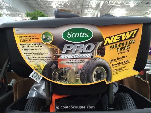 Scotts Edgeguard Pro Broadcast Spreader Costco 1