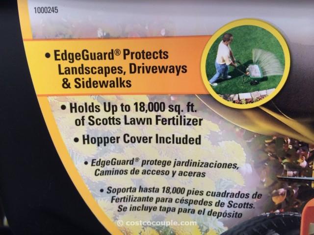 Scotts Edgeguard Pro Broadcast Spreader Costco 2