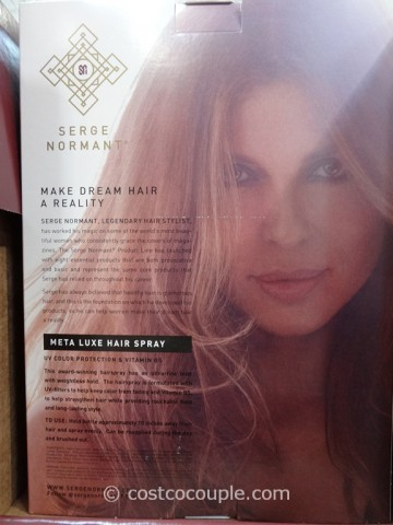 Serge Normant Meta Luxe Hair Spray Costco 4