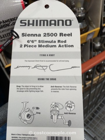 Shimano Trout Combo Rod and Reel Costco 3