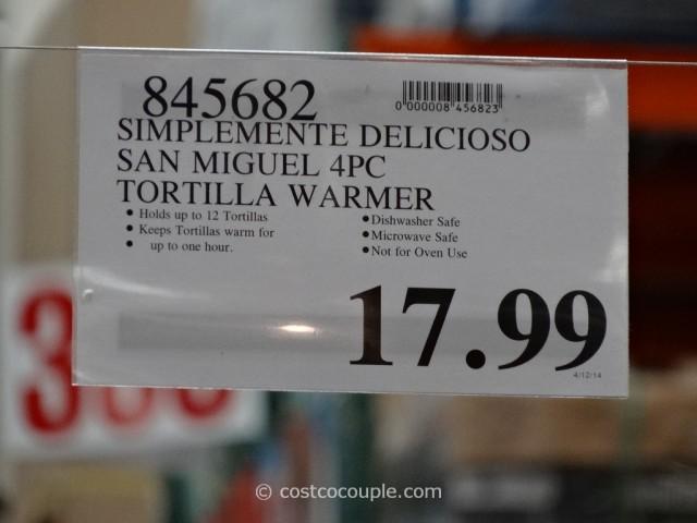 Simplemente Delicioso San Miguel Tortilla Warmer Set