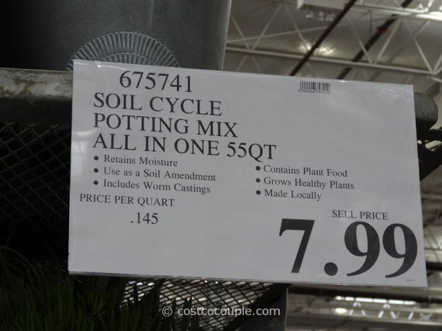 Soil Cycle 55 Qt Potting Mix Costco 3