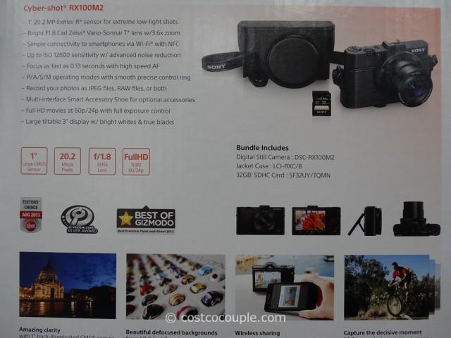 Sony Cybershot RX100M2 Costco 3