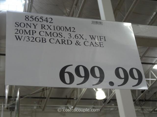 Sony Cybershot RX100M2 Costco 5