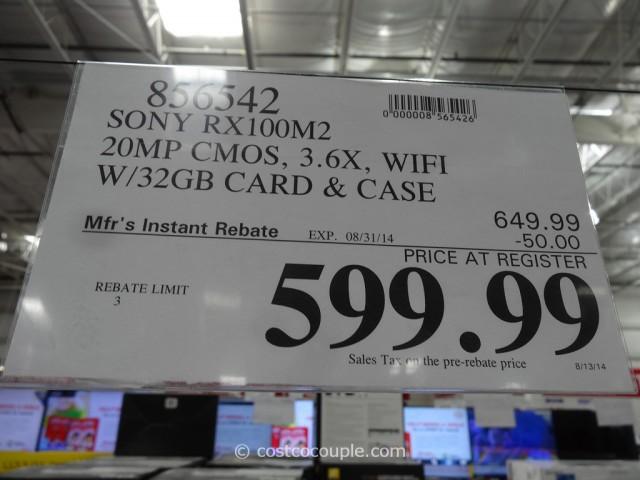 Sony Cybershot RX100M2 Costco