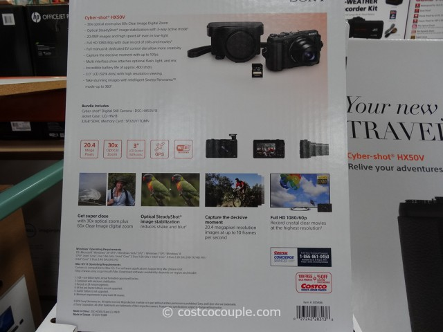 Sony DSC-HX50V Costco 3