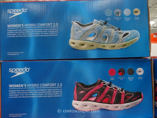 Speedo Ladies Hydro Comfort Watershoe Costco 3