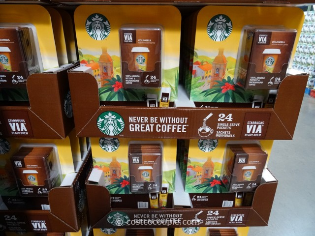 Starbucks VIA Colombian Instant Coffee Costco 2