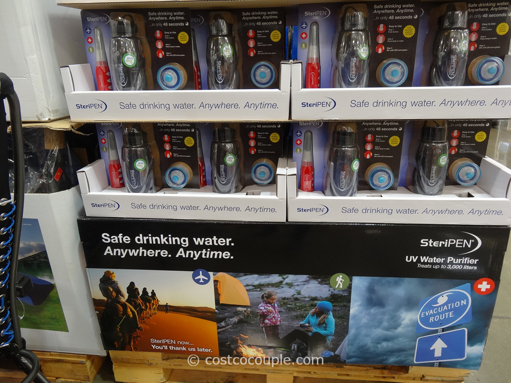 Steripen Water Purifier System Costco 4