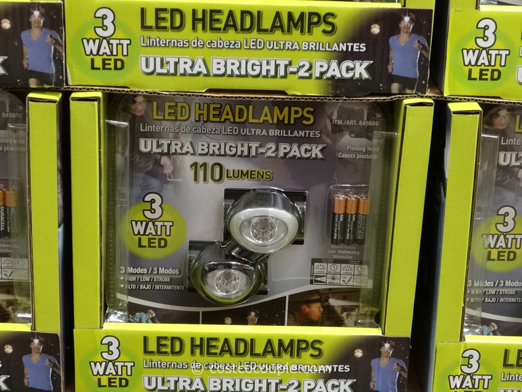 Superex LED Headlamps Costco 1
