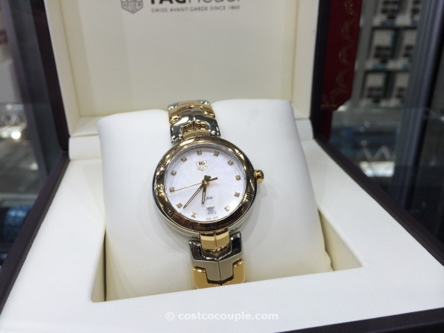 TAG Heuer Link Ladies Diamond Marker Costco 1
