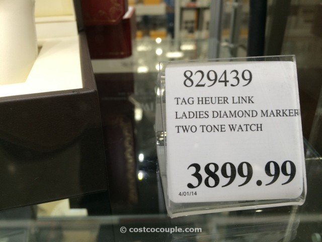 TAG Heuer Link Ladies Diamond Marker Costco 2