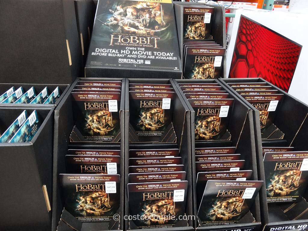 The hobbit: the desolation of smaug (dvd, 2015, 5-disc set.
