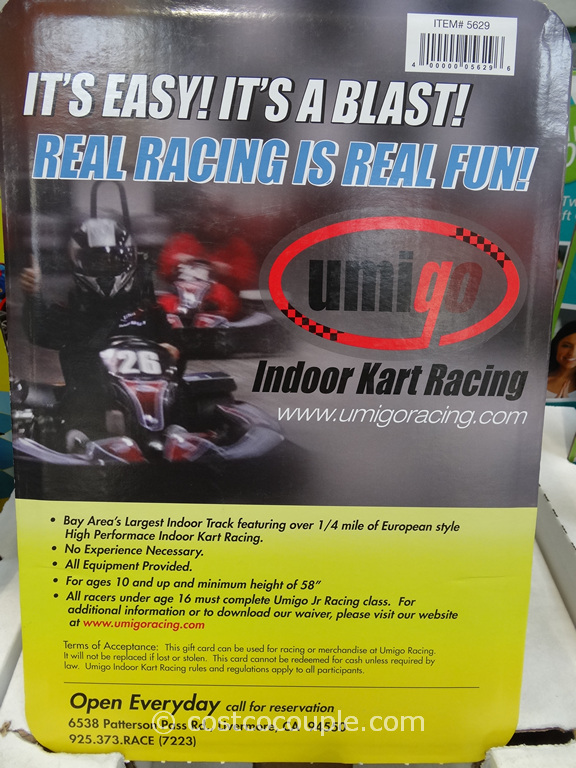 Umigo Indoor Cart Racing Costco 1