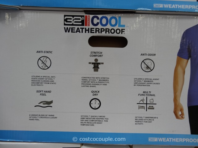 Weatherproof 32 Degrees Cool Mens Crew Neck Tee Costco 3