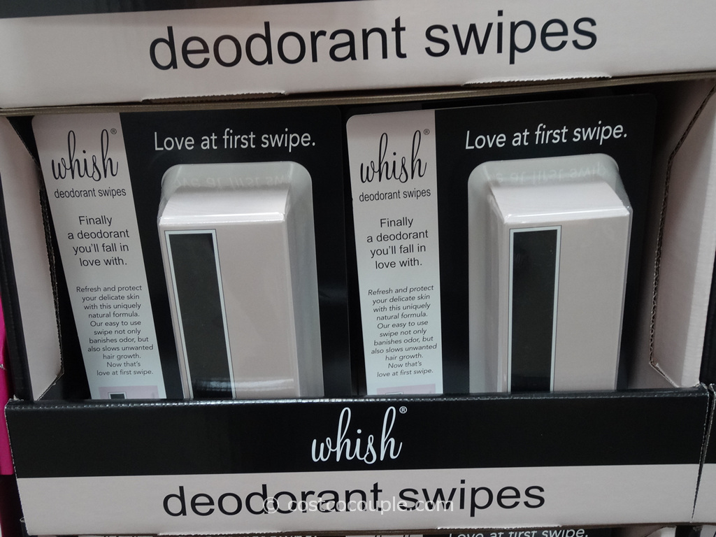 Whish Deodorant Swipes Costco 3