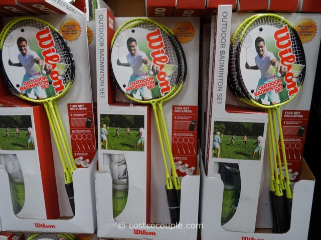Wilson Outdoor Badminton Kit Costco 3
