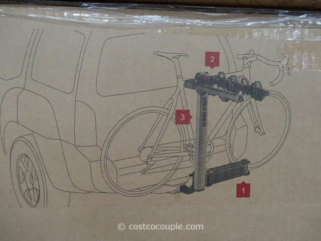 Yakima SwingDaddy Hitch Bike Carrier Costco 2