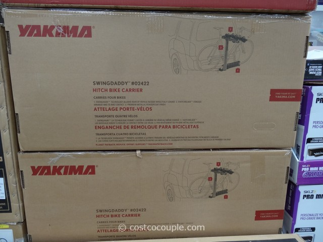 Yakima SwingDaddy Hitch Bike Carrier Costco 4