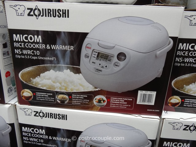 Zojirushi Rice Cooker NS-WRC10 Costco 1