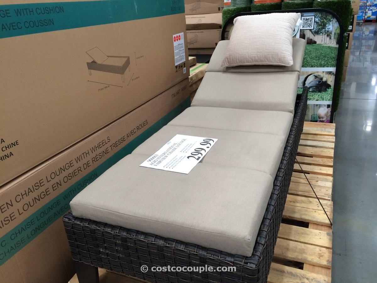Agio International Fairview Chaise Lounge Costco 4