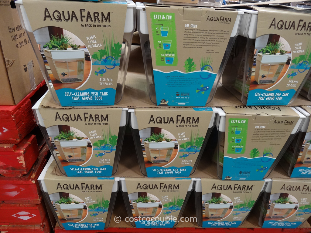 Back To The Roots Aqua Farm Fish Tank Costco 1
