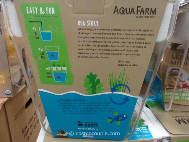 Back To The Roots Aqua Farm Fish Tank Costco 2