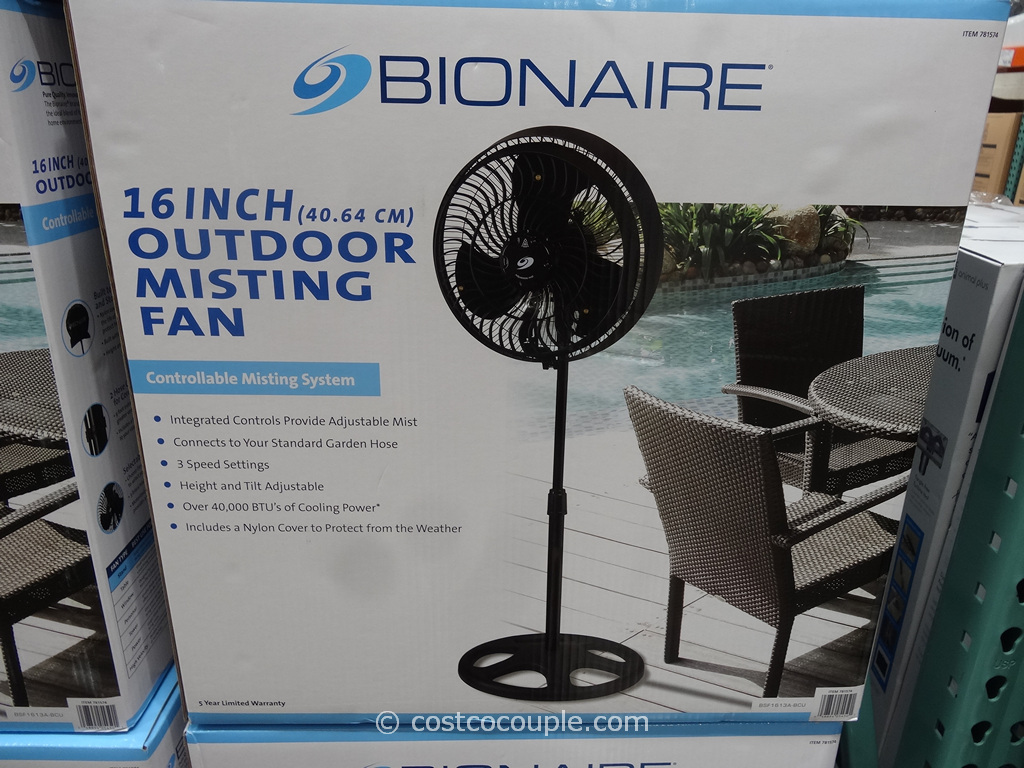 Bionaire 16-Inch Outdoor Misting Fan Costco 2