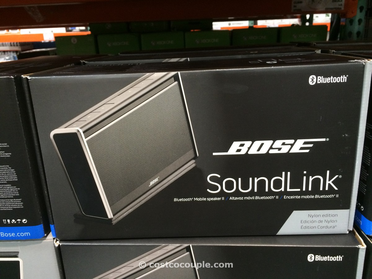 Bose Soundlink Mobile II Speaker Costco 1