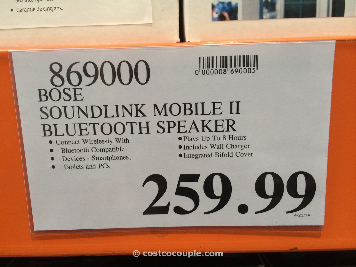 Bose Soundlink Mobile Speaker Ii