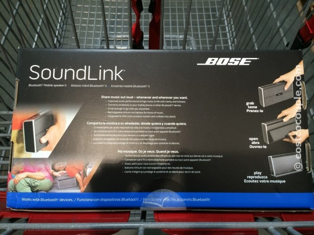 Bose Soundlink Mobile II Speaker Costco 3