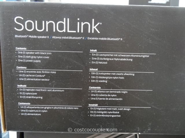 Bose Soundlink Mobile II Speaker Costco 6