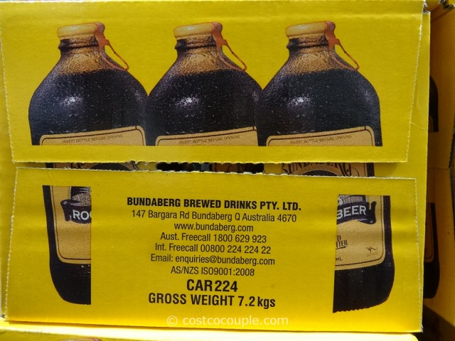 Bundaberg Root Beer Costco 2
