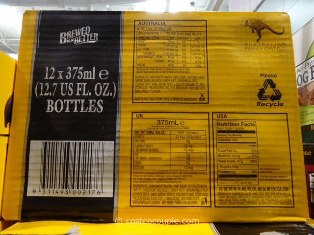 Bundaberg Root Beer Costco 4