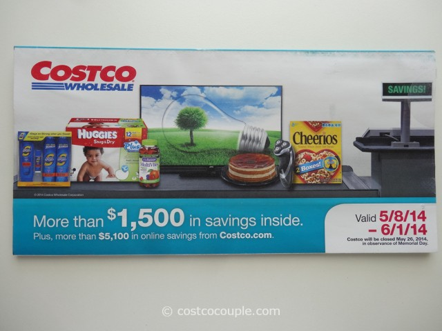 Costco May 2014 Coupon Book 1