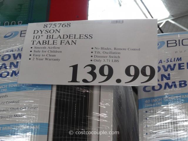 Dyson Air Multiplier Fan Costco 4