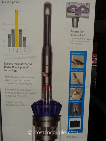 Dyson DC65 Animal Plus Upright Vacuum Costco 3