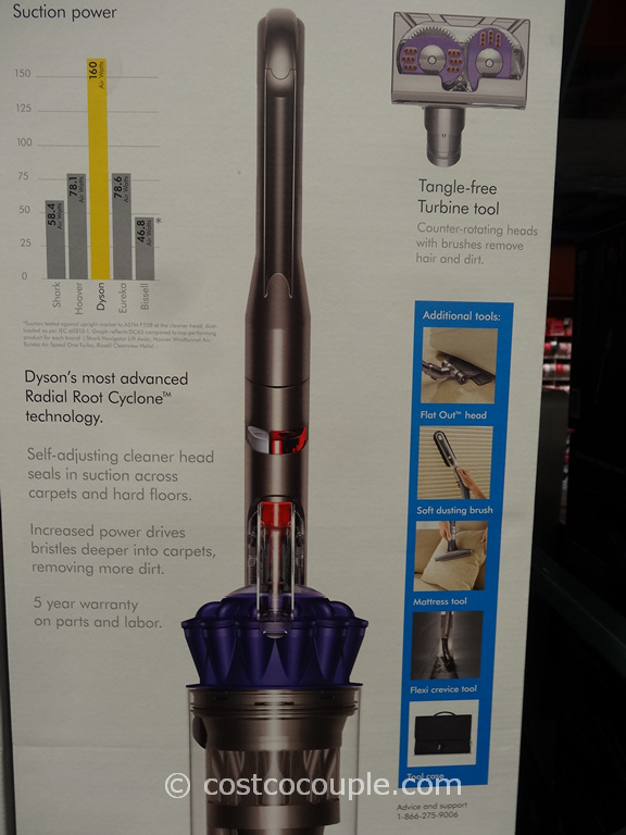 Dyson Dc65 Animal Plus Upright Vacuum
