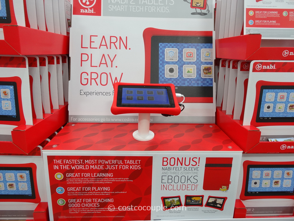 Fuhu Nabi 2 7-Inch Tablet Costco 4