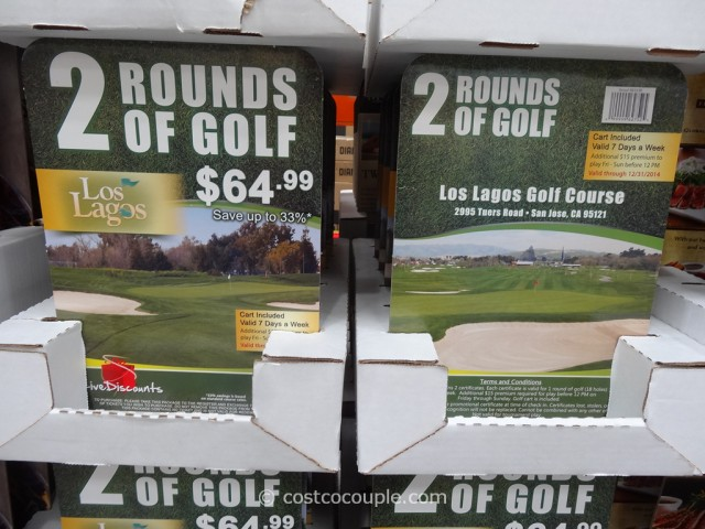 Gift Card Los Lagos Golf Costco 2