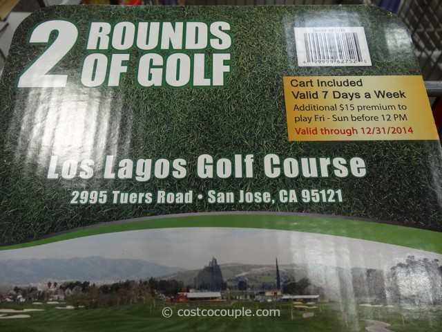 Gift Card Los Lagos Golf Costco 3