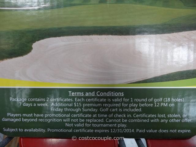 Gift Card Los Lagos Golf Costco 4